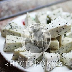 Hard Cheese with herbs